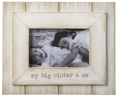My Big Sister and Me Picture Frame