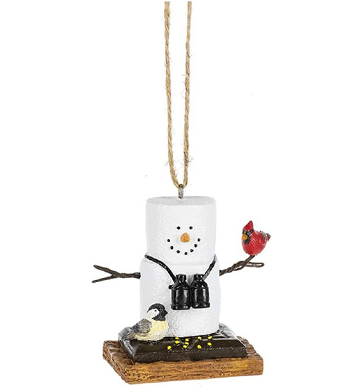 S'more Bird Watching Ornament