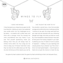 Load image into Gallery viewer, Bryan Anthonys Wings to Fly Necklace Set- Silver or Gold