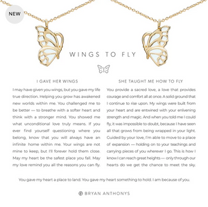 Bryan Anthonys Wings to Fly Necklace Set- Silver or Gold