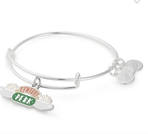 Alex and Ani Friends Collection 'Central Perk' Silver Bangle
