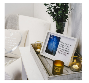 Stars in the Sky Shadow Box Picture Frame