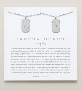 Bryan Anthonys Big Dipper Little Dipper Necklace Set