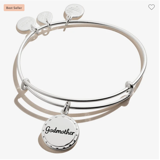 Alex and Ani Godmother 'My Guardian Angel' Bracelet in Silver or Gold