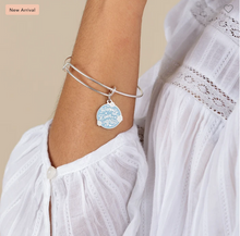 Load image into Gallery viewer, Alex and Ani 'Happily Ever After' Silver Bangle
