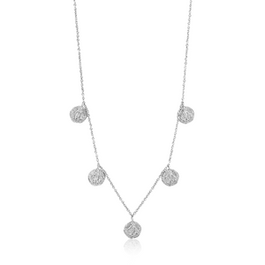 Sterling Silver Deus Necklace by Ania Haie