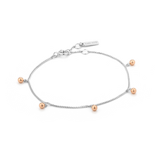 Load image into Gallery viewer, Sterling Silver Orbit Drop Bracelet