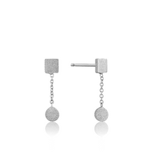 Load image into Gallery viewer, Sterling Silver Shape Drop Earrings