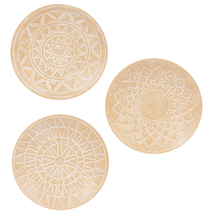 Terra Cotta finish Wall Decor set of 3
