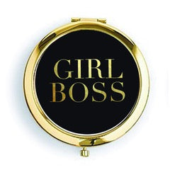 Girl Boss Compact Mirror