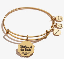 Load image into Gallery viewer, Alex and Ani Mother of the Bride Bracelet Gold