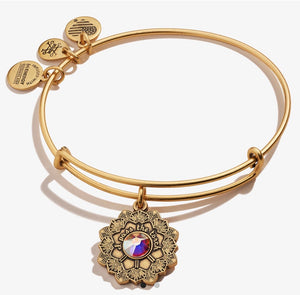Alex and Ani Mother of the Bride Bracelet Gold