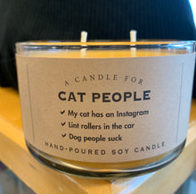 Load image into Gallery viewer, Candle for Cat People - Soy Candle