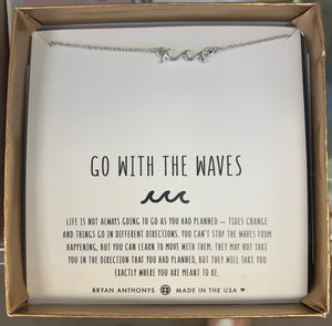 Go with the Waves Bracelet