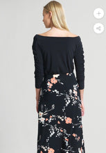 Load image into Gallery viewer, Clara Sunwoo Black Off the Shoulder Top
