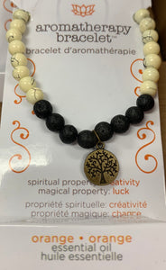 Aromatherapy Oil Diffuser Bracelet with oil -Jewelry