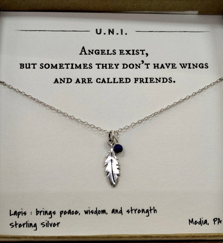 Friends are Angels Necklace