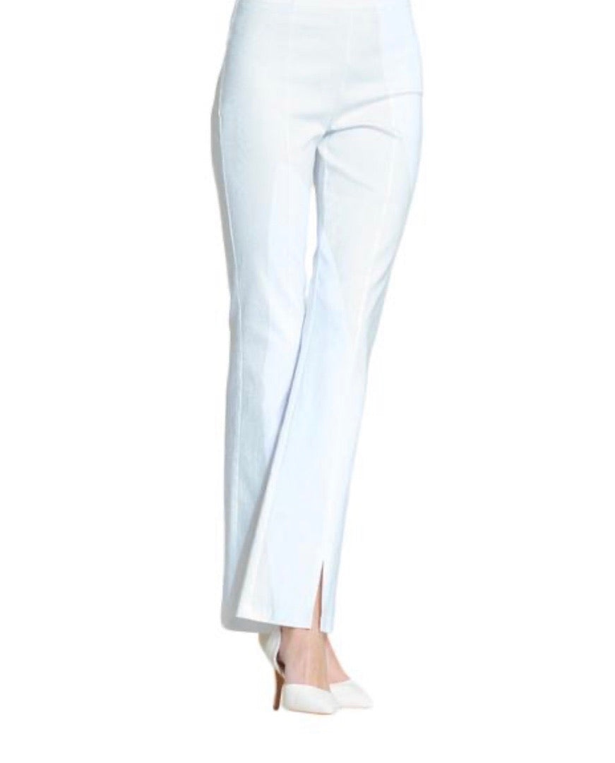 Clara Sunwoo White Techno Stretch Pants