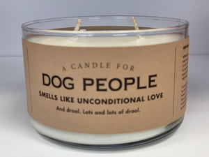 Candle for Dog People - Soy Candle