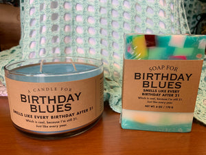 Soap for Birthday Blues - Made in the USA