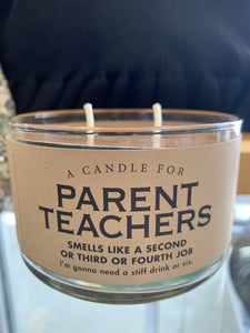 Candle for Parent Teachers
