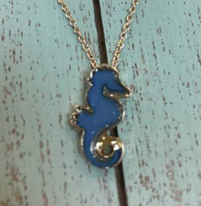 Seahorse Necklace & Earring Set