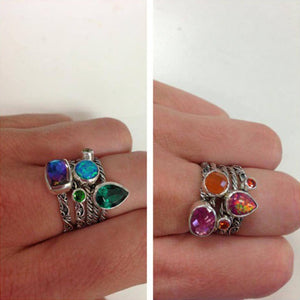 Lori Bonn Hot Tamale Stacking Rings