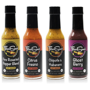 Variety Pack -  4 Pack Hot Sauce