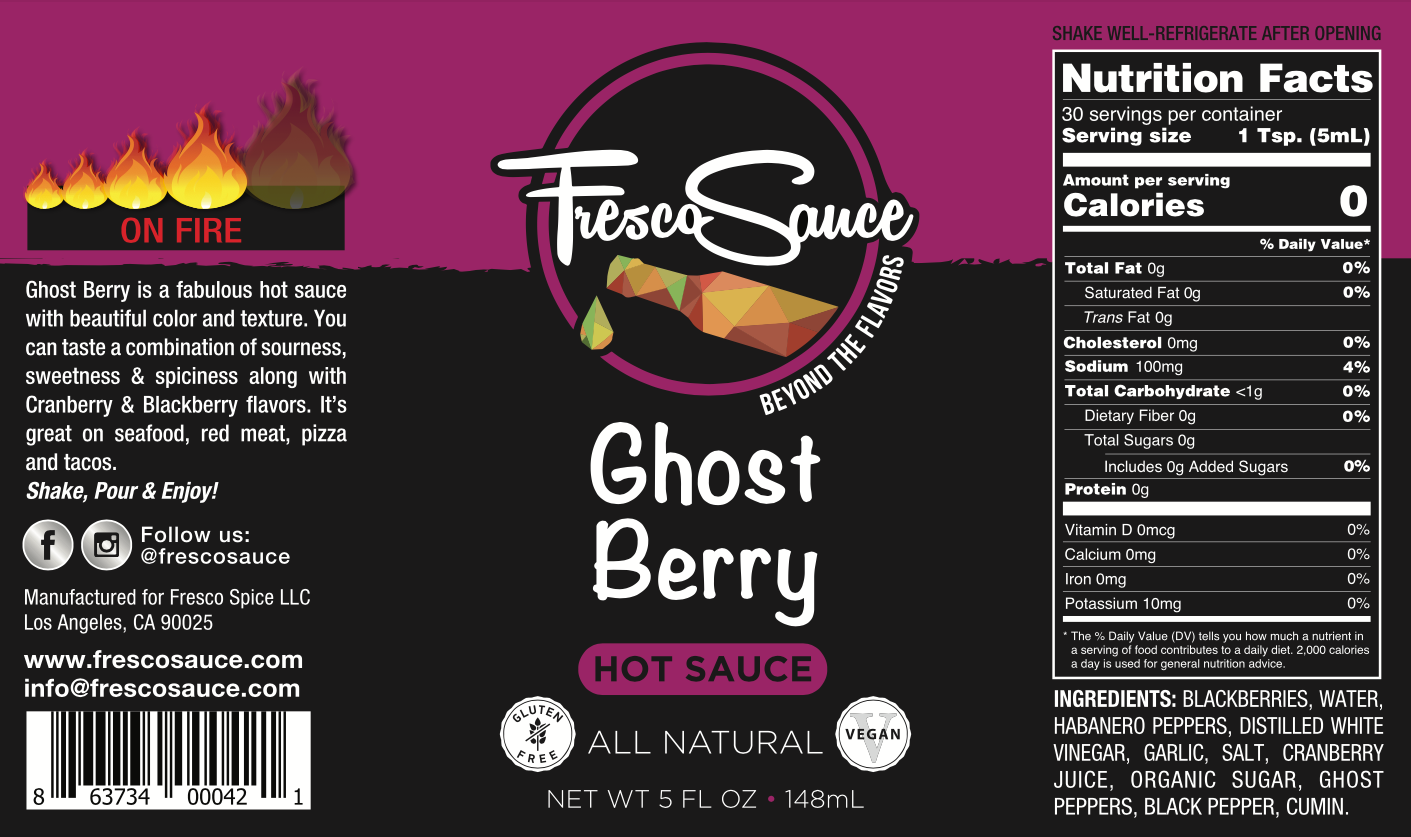 Ghost Berry Hot Sauce