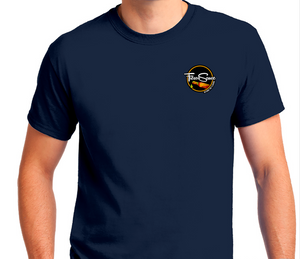Fresco Sauce -Navy Blue Gildan Adult Unisex Ultra Cotton® T-shirt