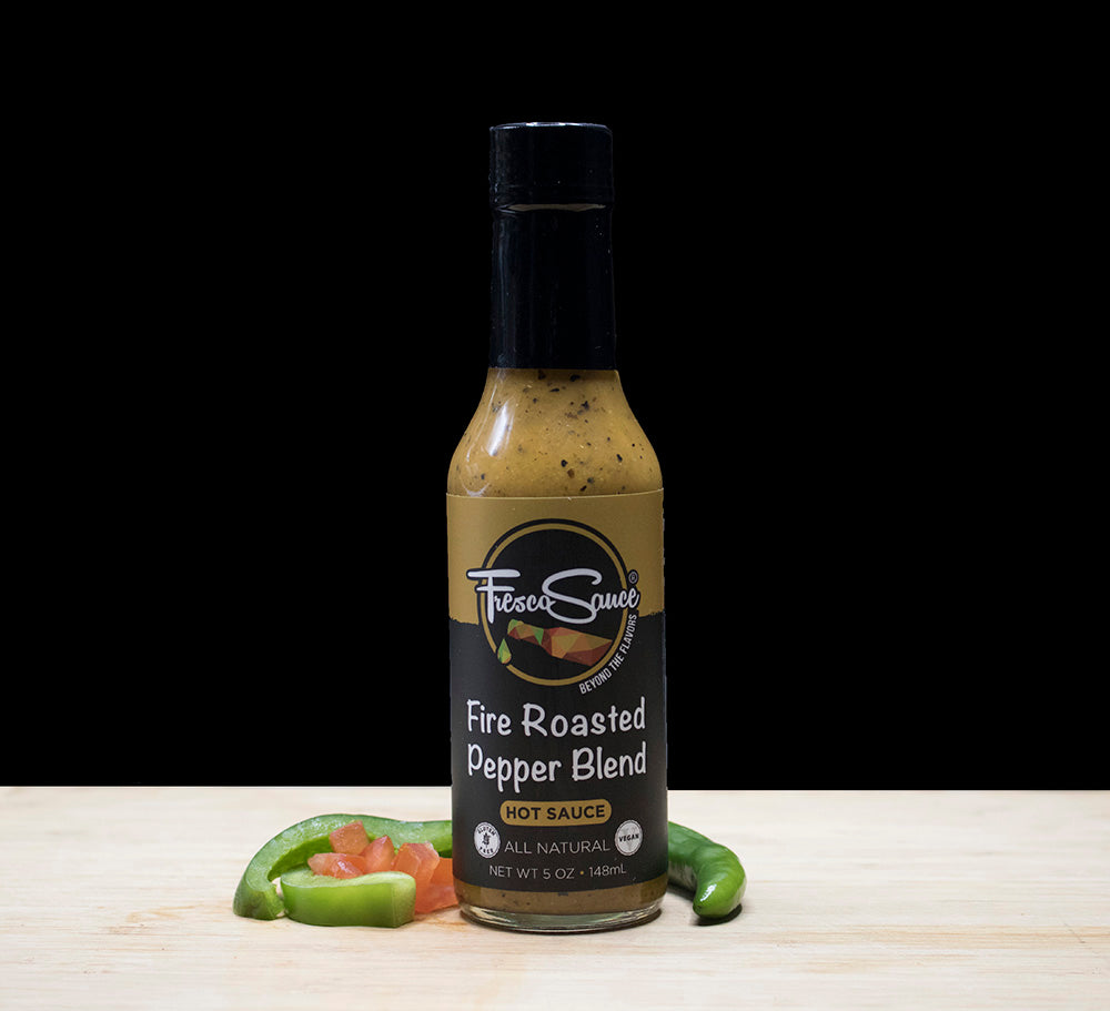 Fire Roasted Pepper Blend Hot Sauce
