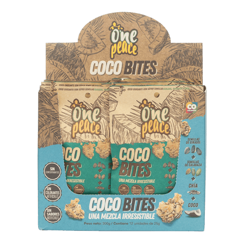 Pack Coco Bites Snack