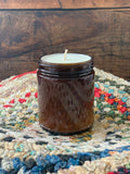 Autumn Glass Jar Candles