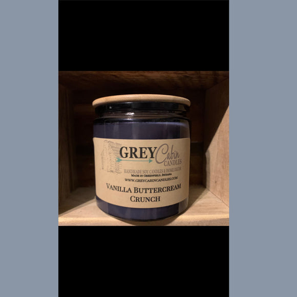 Blueberry Blue Jar Candle
