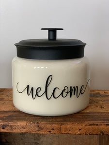 Welcome Jar  {32 oz}