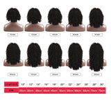 Luvin Short Bob Deep Wave 180 Density Lace Front Human Hair Wig Pre Plucked Brazilian Curly Frontal Natural Water Wigs