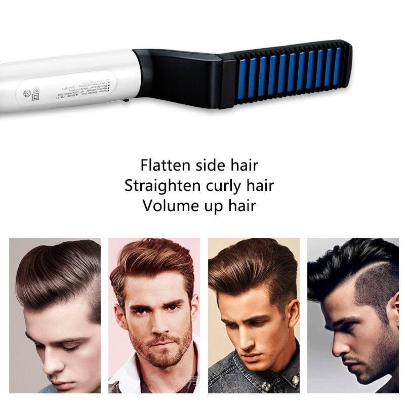 DualComb™ - Multifunctional Hair Comb & Beard Straightener