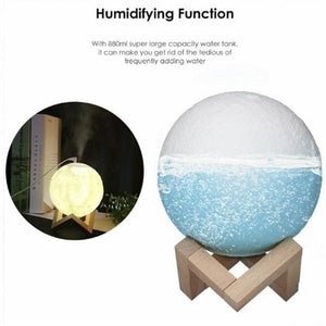 3D Moon Light Aroma Essential Humidifier FX04039