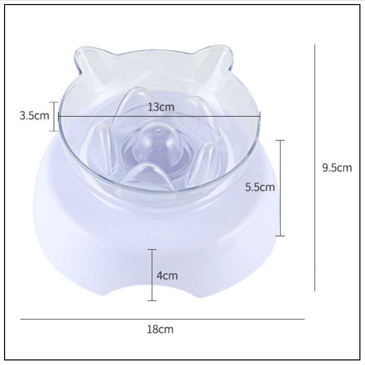 Elevated Cat Bowl With Raised Stand FX04037