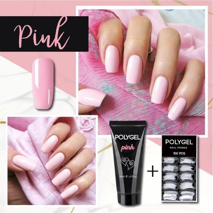 PolyGel Quick Nail Kit FX070401