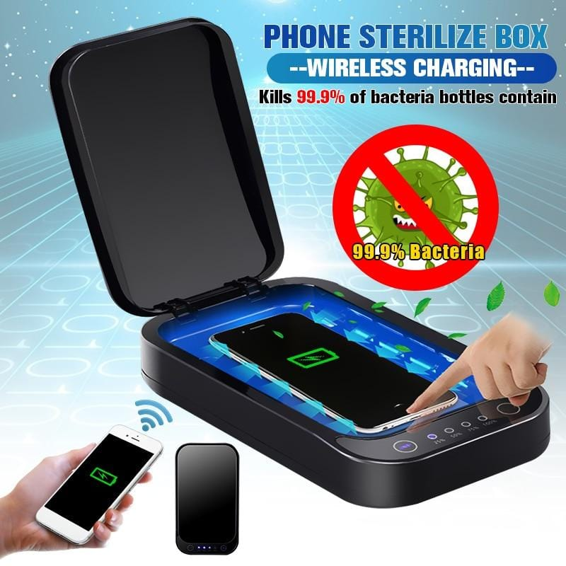 Disinfection Box - Phone UV Sanitizer and Wireless Charger CN040401