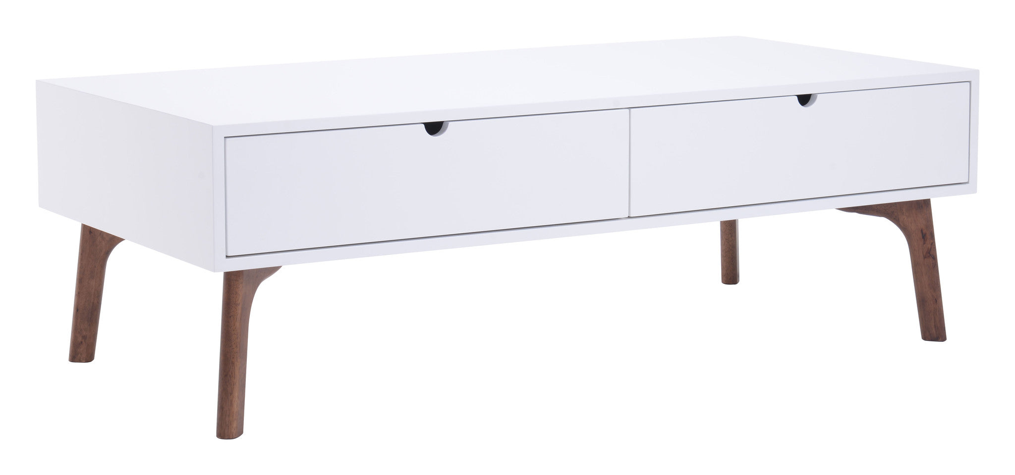 Padre Coffee Table With Double Drawers Mod House