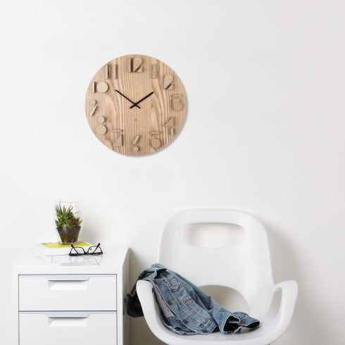 Shadow Wall Clock by Umbra