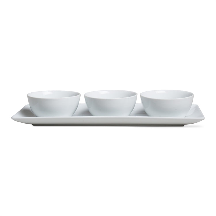 Serving Bowls and Tray Set