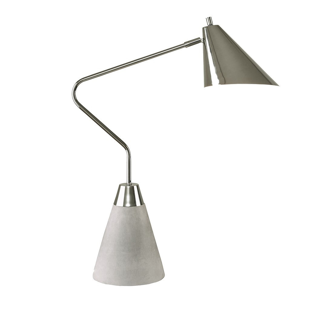 Cement Base Table Lamp