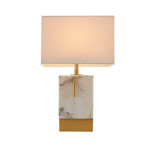Marble + Gold Table Lamp