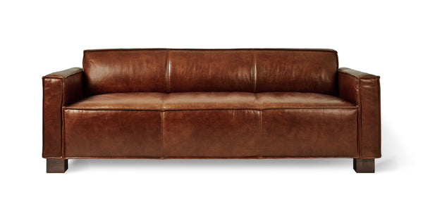 Saddle Brown Leather