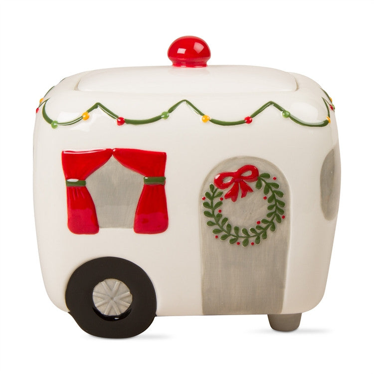 Camper Cookie Jar