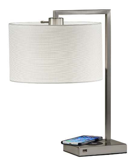 Charging Stainless Table Lamp