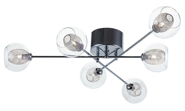 Estelle 6 Ceiling Mount Light